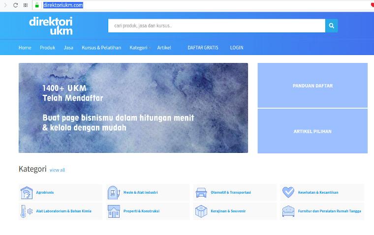 Promosi Gratis Di Direktoriukm Com Web Design Direktori Bisnis Google Ads Pelatihan
